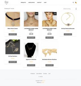 Vicario Design Website