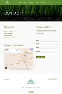 Emerald Works - Contact Page
