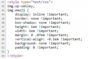 Emoji CSS