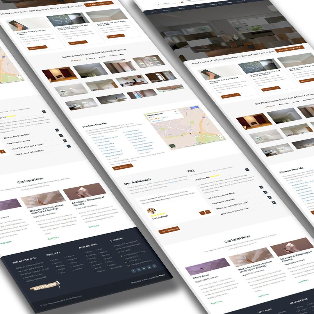 Websites for Plasterers